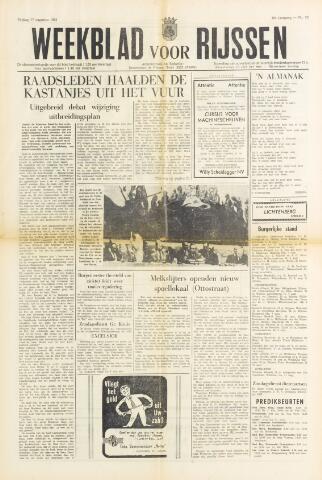 Weekblad voor Rijssen 1962-08-17