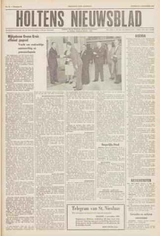 Holtens Nieuwsblad 1960-11-05