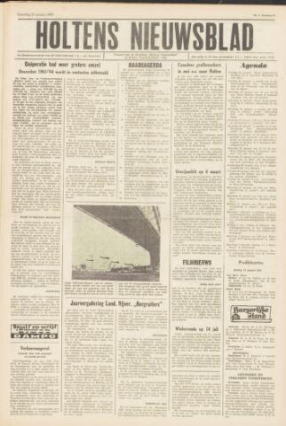 Holtens Nieuwsblad 1965-01-23