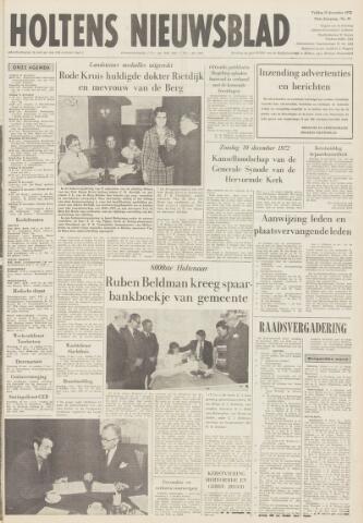 Holtens Nieuwsblad 1972-12-15
