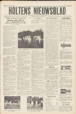 Holtens Nieuwsblad 1965-09-11