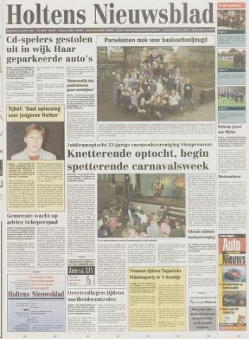 Holtens Nieuwsblad 2002-01-31