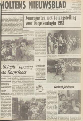Holtens Nieuwsblad 1981-07-30