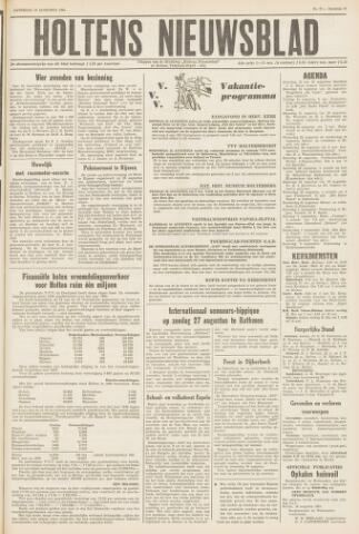 Holtens Nieuwsblad 1961-08-19