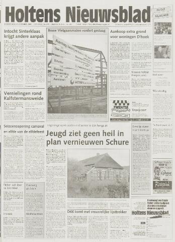 Holtens Nieuwsblad 2000-11-02