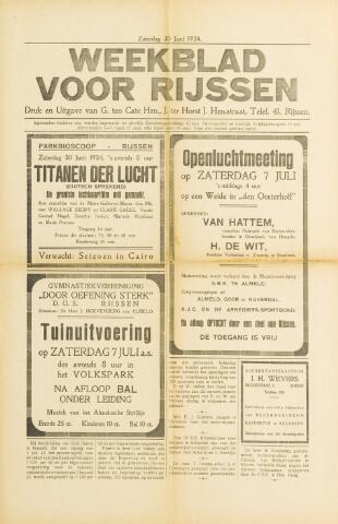 Weekblad voor Rijssen 1934-06-30