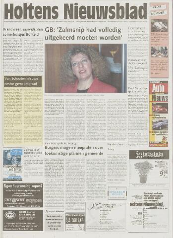 Holtens Nieuwsblad 2001-11-01