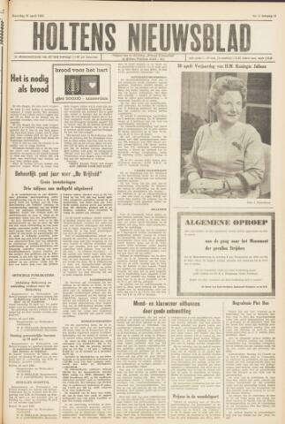 Holtens Nieuwsblad 1963-04-27