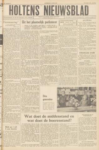 Holtens Nieuwsblad 1957-06-08