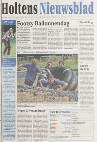 Holtens Nieuwsblad 2007-07-17