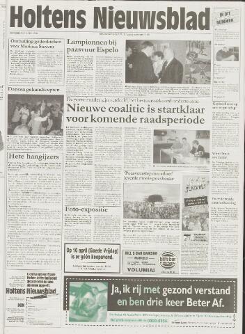 Holtens Nieuwsblad 1998-04-09