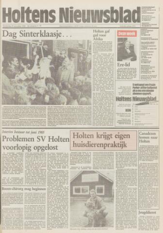 Holtens Nieuwsblad 1984-11-29