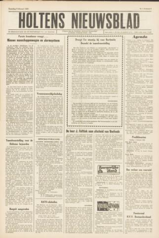 Holtens Nieuwsblad 1965-02-06