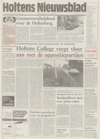 Holtens Nieuwsblad 1992-10-29