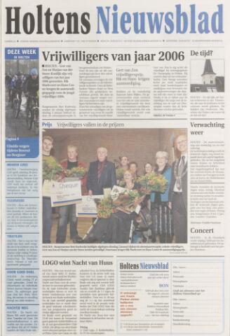 Holtens Nieuwsblad 2007-01-09