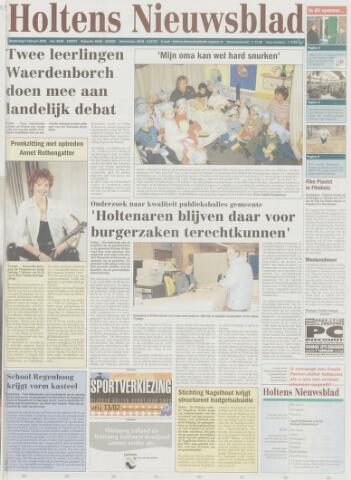 Holtens Nieuwsblad 2004-02-05