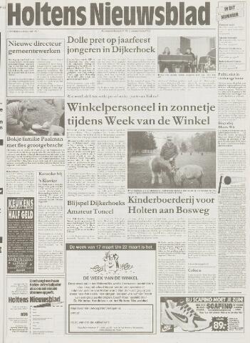 Holtens Nieuwsblad 1997-03-20