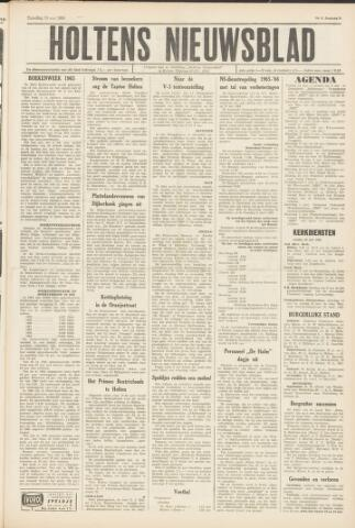Holtens Nieuwsblad 1965-05-15