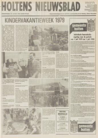 Holtens Nieuwsblad 1979-07-13