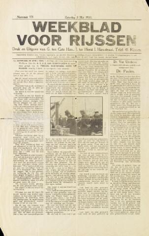 Weekblad voor Rijssen 1930-05-03