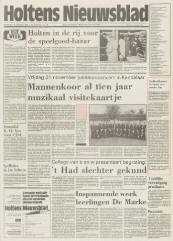 Holtens Nieuwsblad 1986-11-13