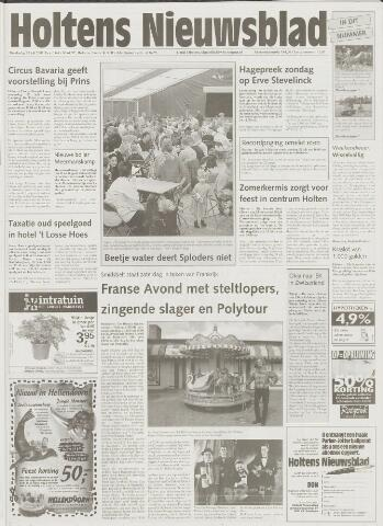 Holtens Nieuwsblad 2001-07-19