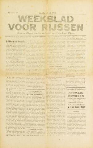 Weekblad voor Rijssen 1920-07-31