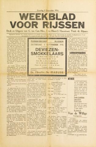 Weekblad voor Rijssen 1934-09-08