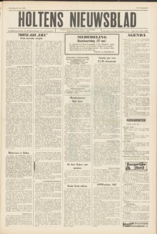 Holtens Nieuwsblad 1965-05-22