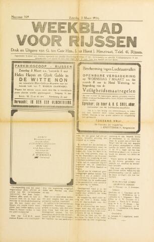 Weekblad voor Rijssen 1934-03-03