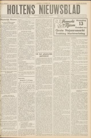 Holtens Nieuwsblad 1952-10-11