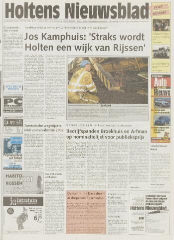 Holtens Nieuwsblad 2001-10-25