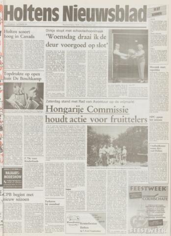 Holtens Nieuwsblad 1995-09-07