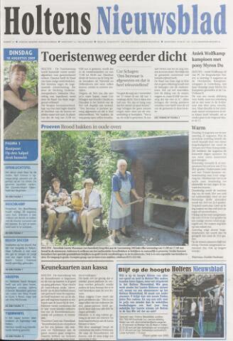 Holtens Nieuwsblad 2009-08-18