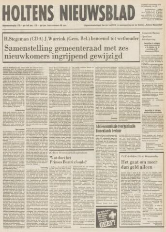 Holtens Nieuwsblad 1978-09-08