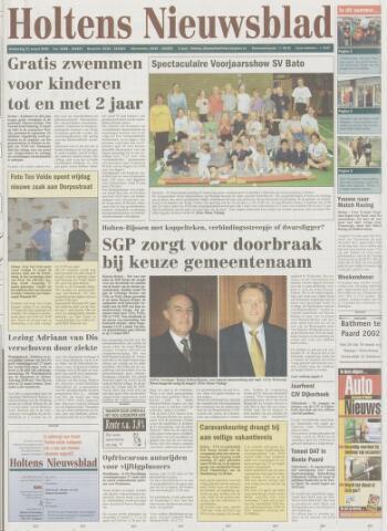 Holtens Nieuwsblad 2002-03-21