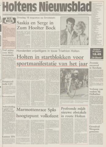 Holtens Nieuwsblad 1992-08-13