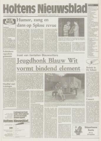 Holtens Nieuwsblad 1994-08-25