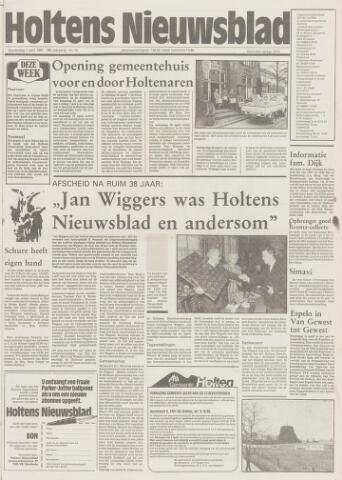 Holtens Nieuwsblad 1987-04-02