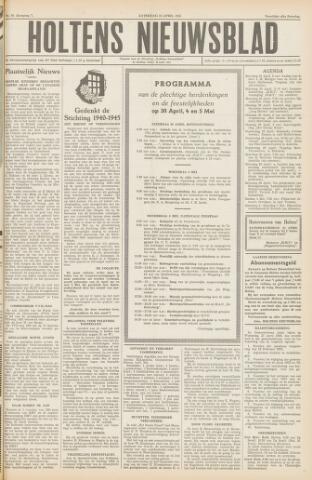 Holtens Nieuwsblad 1955-04-23