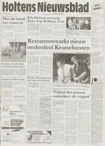 Holtens Nieuwsblad 1997-08-28