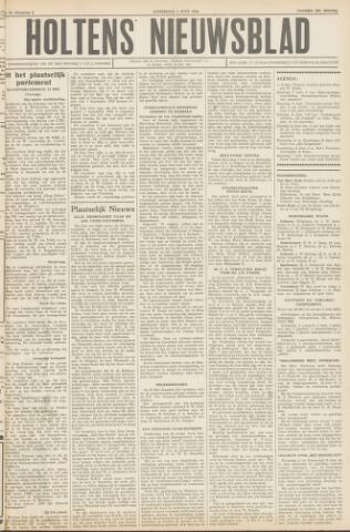 Holtens Nieuwsblad 1952-06-07