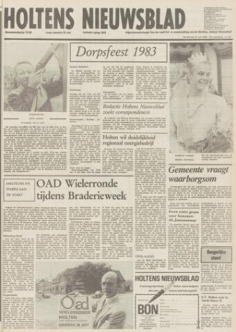 Holtens Nieuwsblad 1983-07-21
