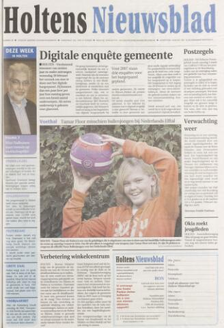 Holtens Nieuwsblad 2007-02-27