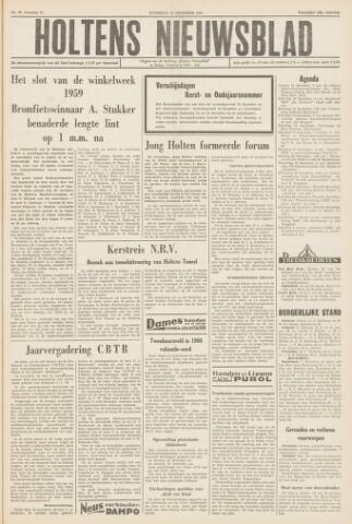 Holtens Nieuwsblad 1959-12-19