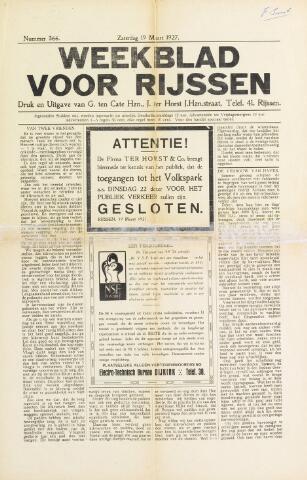 Weekblad voor Rijssen 1927-03-19