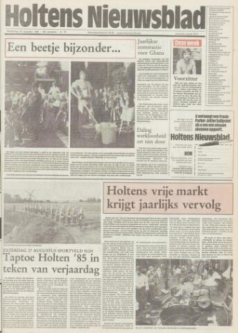Holtens Nieuwsblad 1985-08-15