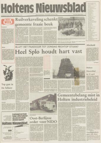 Holtens Nieuwsblad 1987-04-16