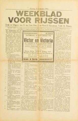 Weekblad voor Rijssen 1934-09-29