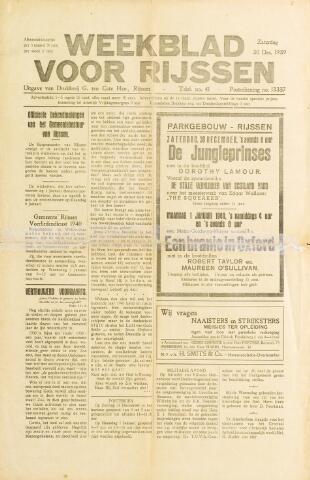 Weekblad voor Rijssen 1939-12-30